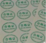 Petite étiquette auto-adhésive ronde et étiquette colorée