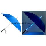 Зонтики промотирования зонтика СИД прямые