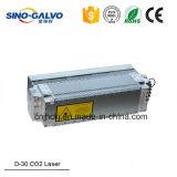 Tamaño pequeño CO2 tubo láser recargable Formulario de China