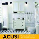 Neue erstklassige heiße verkaufende einfache Art-festes Holz-Badezimmer-Eitelkeits-Badezimmer-Schrank-Badezimmer-Möbel (ACS1-W25)
