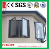 Finestra di alluminio della rottura termica di vetratura doppia