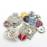 Ювелирные изделия ожерелья кнопки чокеровщика античного способа женщин сплава привесные
