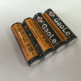 Batterie lourde superbe d'aa 1.5V (paquet de rétrécissement 4PCS)
