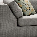 Sofá de la tela del diseño moderno de los muebles de la sala de estar (G7605)