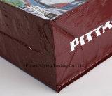 カスタマイズされた印刷(YYNWB067)を用いるPPファブリックハンドル袋