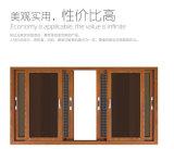Gute QualitätsAluminiumdoppelverglasung schiebendes Windows/Aluminiumfenster