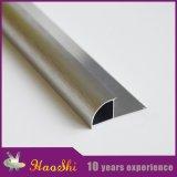 Tipo cercano redondo ajustes de aluminio de la esquina del azulejo de la pared con la marca de fábrica de Haoshi