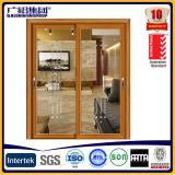 Поставщик для алюминиевых раздвижных дверей с черным экраном мухы нержавеющей стали