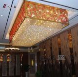 Lampadario a bracci di cristallo dell'hotel del Corridoio K9 per la decorazione