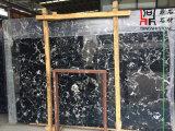 Естественная каменная чернота Portoro сляба мрамора черноты строительного материала высокого качества для Countertop