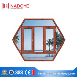 Finestra di alluminio di vetro della stoffa per tendine del doppio del fornitore della Cina