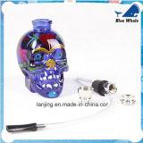 Angestrichenes Schädel-GlasHuka-Filter Shisha Wasser-Rohr
