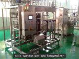 Het semi Automatische Verse Pasteurisatieapparaat van de Melk 1000L/H