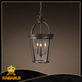 Weinlese-hängender Beleuchtung-Leuchter-hängende Lampen-Großverkauf (KM0113P-3)