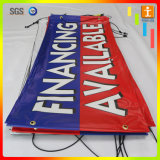 Großhandels-Belüftung-Fahne, Vinylfahne, Flex-Belüftung-Fahne (TJ-003) bekanntmachend