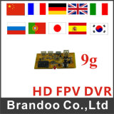 módulo de 720p DVR, mini placa do registrador de RC Quadcopter