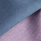 Las altas ventas imprimieron el cuero artificial de la PU para el sofá de los muebles de la tapicería