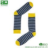 Mann-Baumwollmannschafts-Zoll-Socke