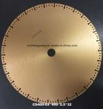 лезвие круглой пилы диска вырезывания диаманта 400mm для композиционных материалов вырезывания трудных конкретных с Rebar