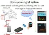 Meter van de Energie van WiFi van de Afstandsbediening van de enige Fase de Elektrische