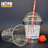 مستهلكة واضحة بلاستيكيّة زجاجة فنجان