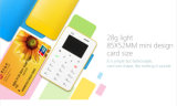 Hot Selling Colorful X6 4.8mm Ultra mince Mini Card Phone avec clavier arabe