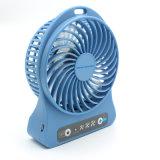 小型ポータブルUSB再充電可能なクーリング電気手のファン