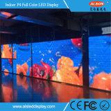 연주회를 위한 높은 정의 P4 LED 영상 벽면