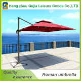 Зонтик патио UV упорной высокой стойки стороны количества напольный