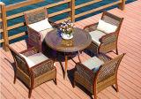 3 세트의 옥외 안마당 발코니 여가 테이블 (원탁) 의자 조합