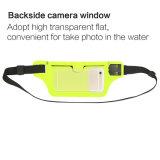 Bolso corriente del paquete de la cintura de la ventana de la cámara de la parte trasera que monta en bicicleta