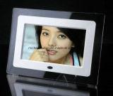 Kundenspezifischer 7 '' TFT LCD Acrylrahmen, der Videodarstellung (HB-DPF702A, bekanntmacht)