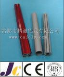 다른 착색된 양극 처리된 알루미늄 단면도, 알루미늄 밀어남 단면도 (JC-W-10025)