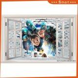 Astro Boy 3D Brique Design Peinture à l'huile pour enfants Chambre pour enfants