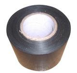 Cinta auta-adhesivo subterráneo del abrigo del tubo de la anticorrosión del butilo, envolviendo la cinta del conducto del PE del betún, cinta externa impermeable del polietileno