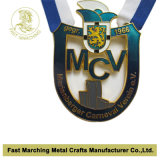 Médaille nickelée de carnaval, médaillon de récompense de souvenir