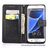 Серия Samsung аргументы за мобильного телефона клетки бумажника выбитой кожи