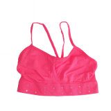 Soutien-gorge sexy de sports de yoga de tube sexy sans joint de fille