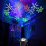 Indicatore luminoso esterno del giardino del laser LED dei fiocchi di neve di IP65 del proiettore di luce di natale del proiettore bianco della luce laser