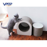 Atacado Creative Shaped Cardboard Cat Scratcher para gato