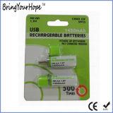 1.2V 1450mAh USB recargable batería AA (XH-PB-209)