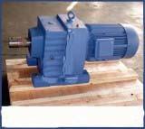 Fuss-Eingehangenes schraubenartiges Geared-Motor/Geschwindigkeits-Reduzierstück