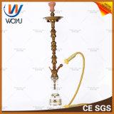 Tubes d'eau en acier inoxydable Nargile Tobacco Golden Shisha Hookah