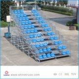 Asientos del blanqueador de las graderías cubiertas de la capa para la venta