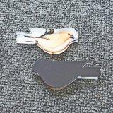 Magneet van de Koelkast van de Vorm van de vogel 3D Modieuze voor Gift hx-8070 van de Bevordering