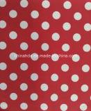 Tela blanca roja de la impresión de PUNTO para la ropa de deportes (HD1401023)