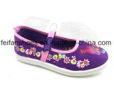 美しい女の子の注入のズック靴の子供の偶然靴(FFHH1230-08)
