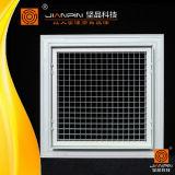 경첩을 단 HVAC 시스템은 쉬운 임명 알루미늄 Eggcrate 석쇠를 응어리를 뺀다