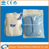 Paquete eo estéril papel doble Médica gasa compresa quirúrgica