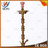 Waterpijp Shisha van de Tabak van Nargile van de Waterpijpen van het roestvrij staal de Gouden